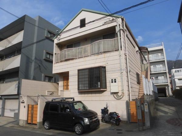 神戸市東灘区 売土地外観写真