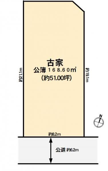 神戸市東灘区岡本 間取画像
