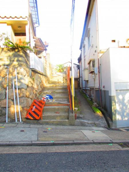 神戸市灘区 売土地外観写真